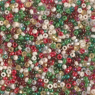 11-MIX-22 - 11/0 Miyuki Seed Bead Mix, Old Fashioned Christmas | 125 Grams