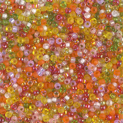 11-MIX-33 - 11/0 Miyuki Seed Bead Mix, Flamingo Road | 125 Grams