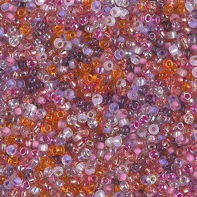 11-MIX-37 - 11/0 Miyuki Seed Bead Mix, Watermelon Sunrise | 125 Grams