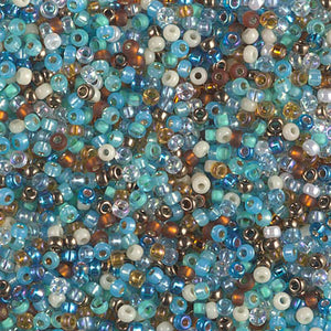 11-MIX-39 - 11/0 Miyuki Seed Bead Mix, Surf and Sand | 125 Grams