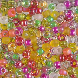 6-MIX-13 - 6/0 Miyuki Seed Bead Mix, Flamingo Road | 125 Grams