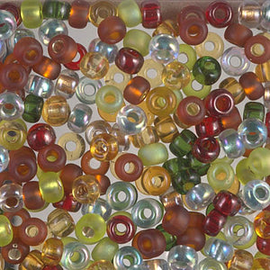 6-MIX-19 - 6/0 Miyuki Seed Bead Mix, Good Earth | 125 Grams