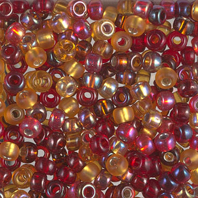 6-MIX-29 - 6/0 Miyuki Seed Bead Mix, Cranberry Harvest | 125 Grams