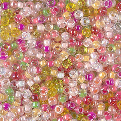 8-MIX-25 - 8/0 Miyuki Seed Bead Mix, Flamingo Road | 125 Grams
