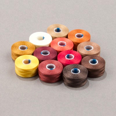 CLBAA.MIX-08 - C-Lon Autumn Mix, Size AA | 12 Bobbins