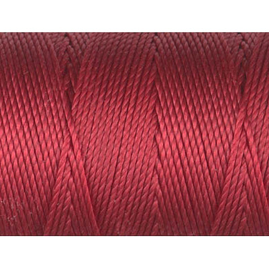 CLC-RH - C-LON Bead Cord Red-Hot | 4 Bobbins