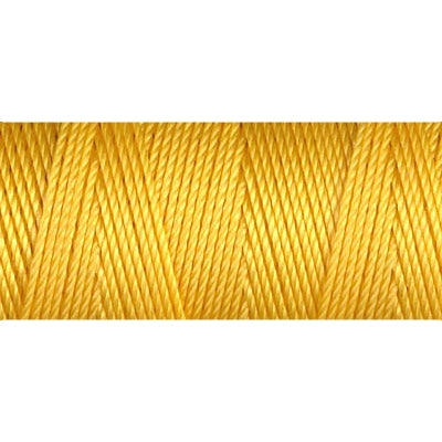 CLC.135-GY - C-LON Fine Weight Bead Cord Golden Yellow | 4 Bobbins