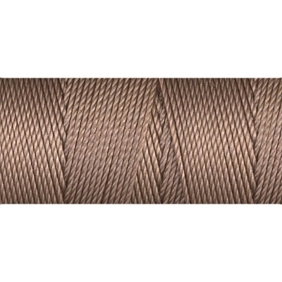 CLC.135-S - C-LON Fine Weight Bead Cord, Sable | 50 Yard Bobbin | 4 Bobbins