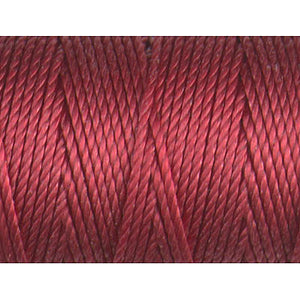 CLC.400-RH - C-LON Tex 400 Bead Cord Red-Hot (approx 39 yds per bobbin) | 4 Bobbins