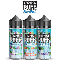 Moreish Puff Menthol: 120ml Shortfill