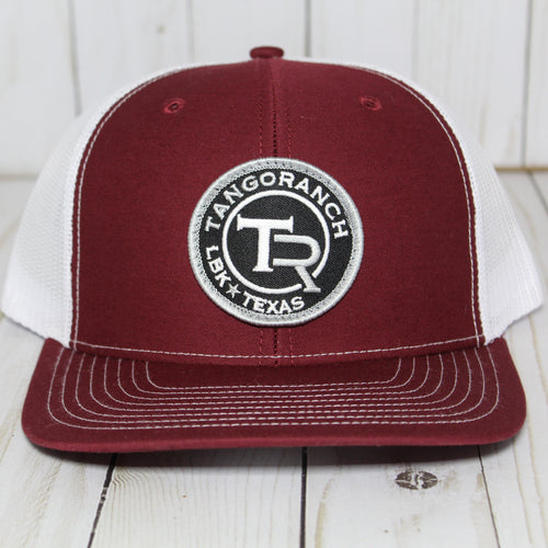 TR Cap - Cardinal Red Circle Patch