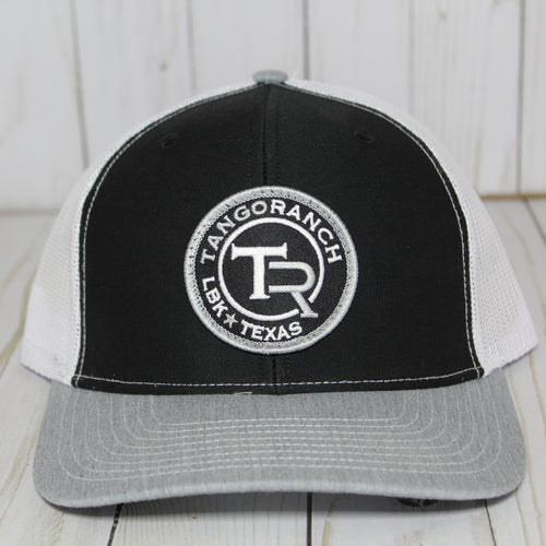 TR Cap - Black Tri-Color Circle Patch