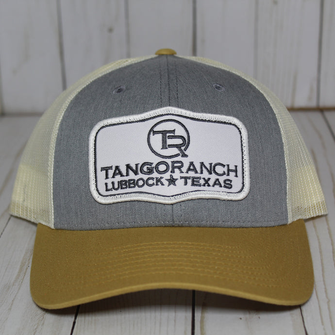 TR Cap - Heather Grey Tri-Color Patch Cap