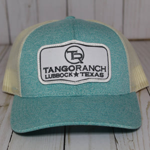 TR Cap - Heather Teal Patch Cap