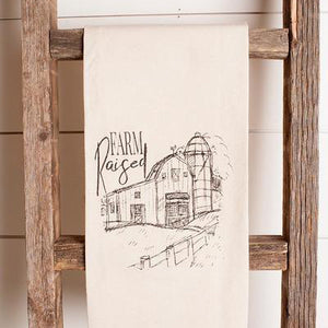 Farm Raised Tea Towel
