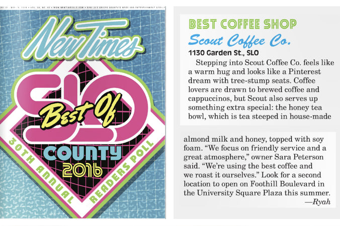 Thanks for Voting us the Best Coffee!