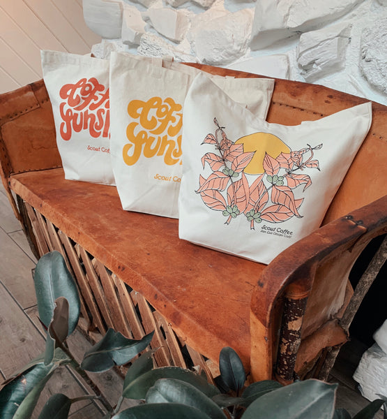 Scout Coffee Tote Bags