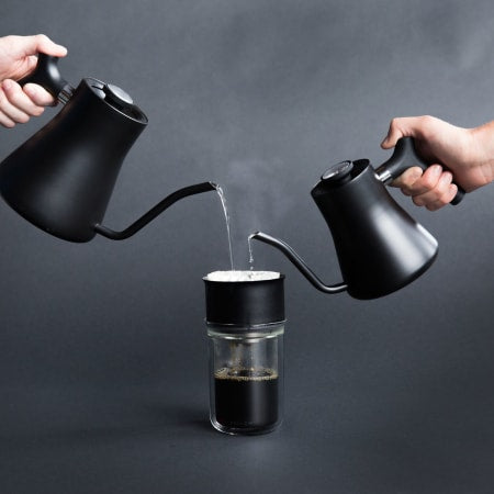 Mini Pour-Over Kettle -- Matte Black - Scout Coffee