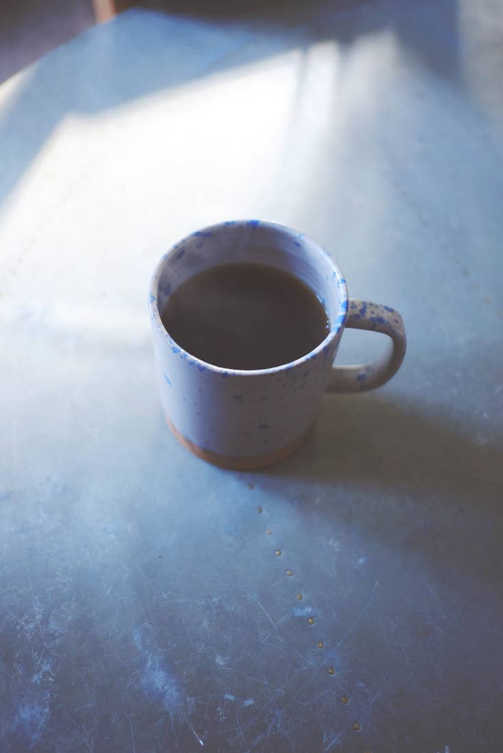 Blue Speckled Mug - Scout Coffee