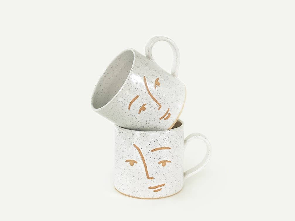 Speckled Faces Mug - Scout Coffee