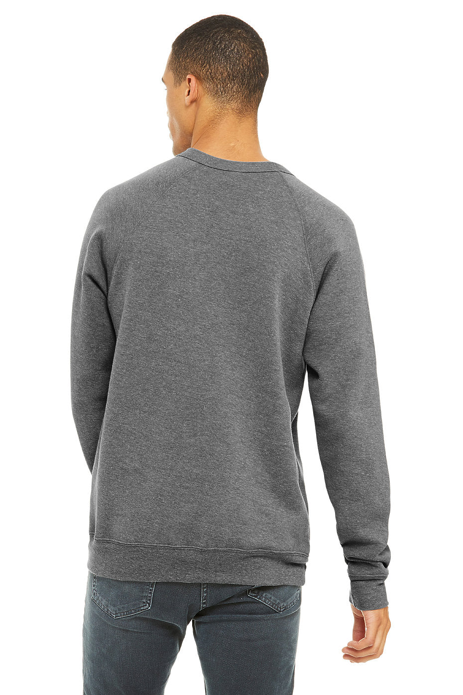 "Gray ""Organic Eye"" Sweatshirt"
