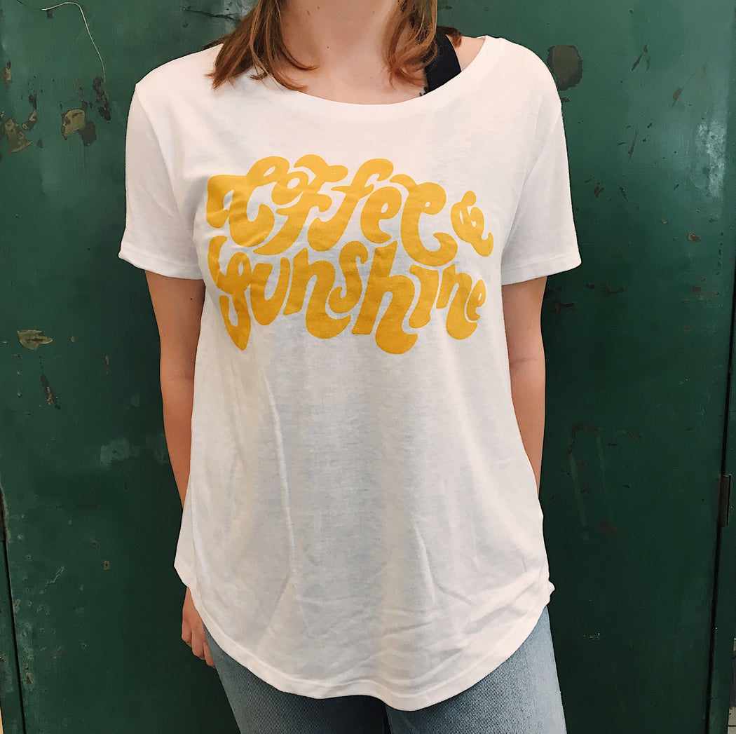 Coffee & Sunshine Women's Jersey Tee - Scout Coffee