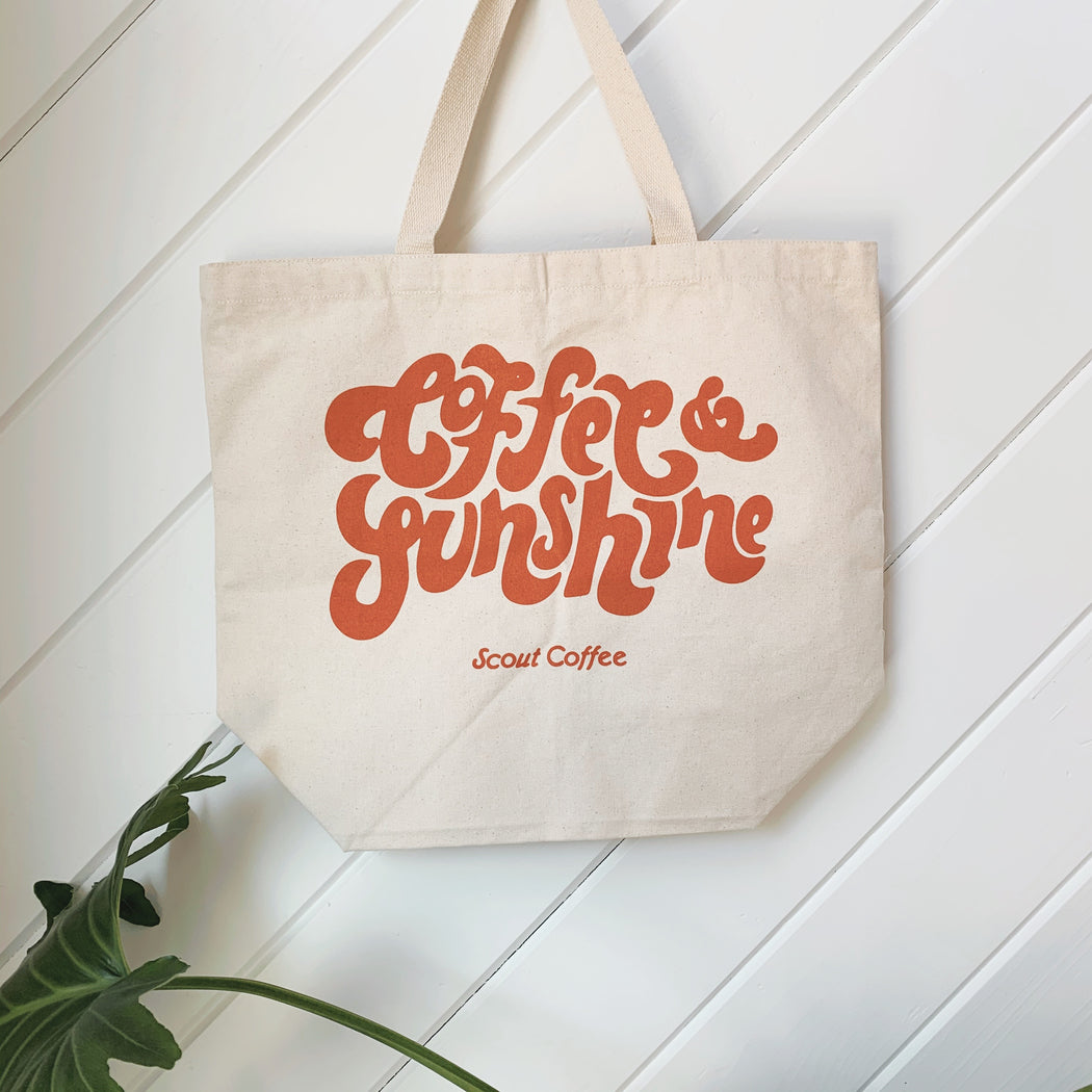 Scout Coffee Desert Rose Coffee & Sunshine Tote Bag