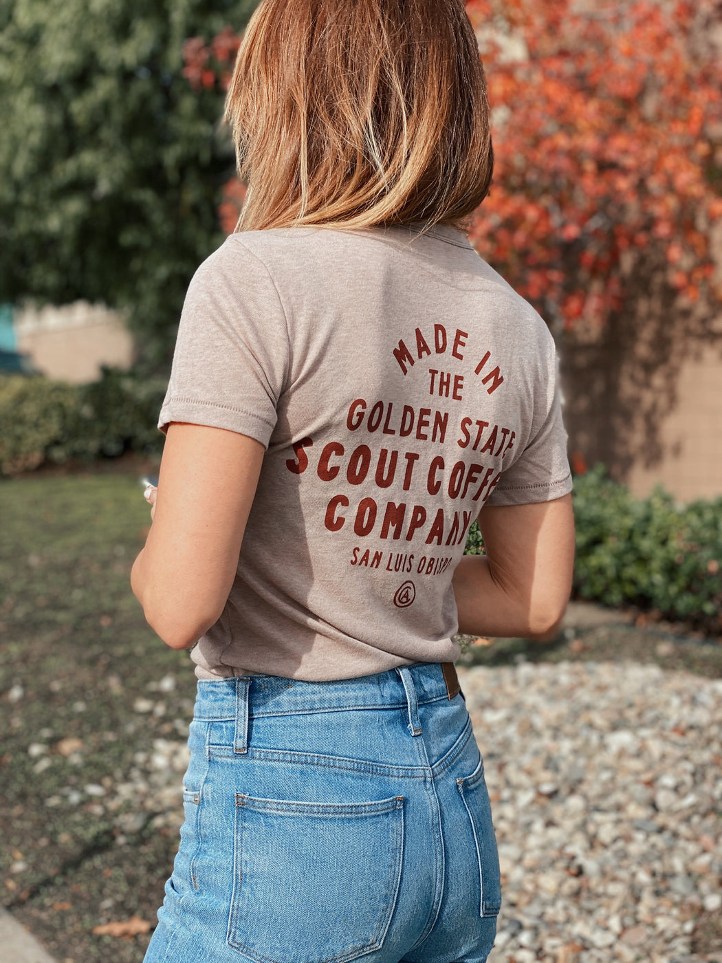 Scout Golden State T-shirt - Scout Coffee