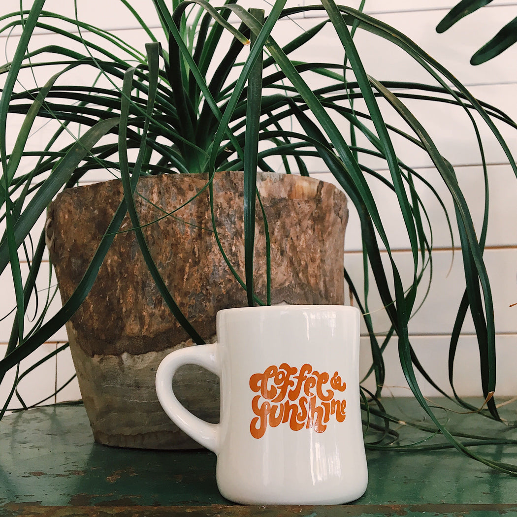 Coffee and Sunshine Diner Mug - Scout Coffee