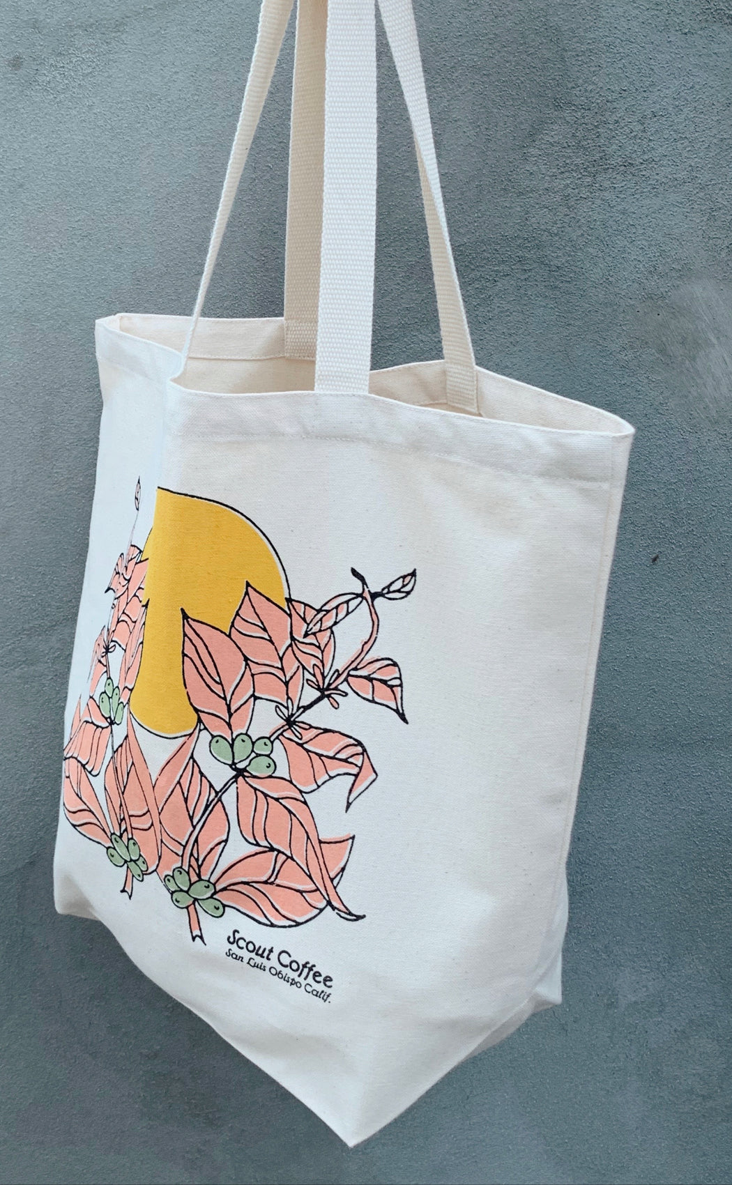 Scout Coffee Botanical Tote Bag
