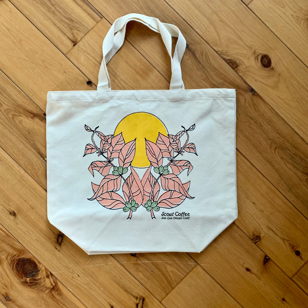 Scout Coffee Botanical Tote Bag - Scout Coffee