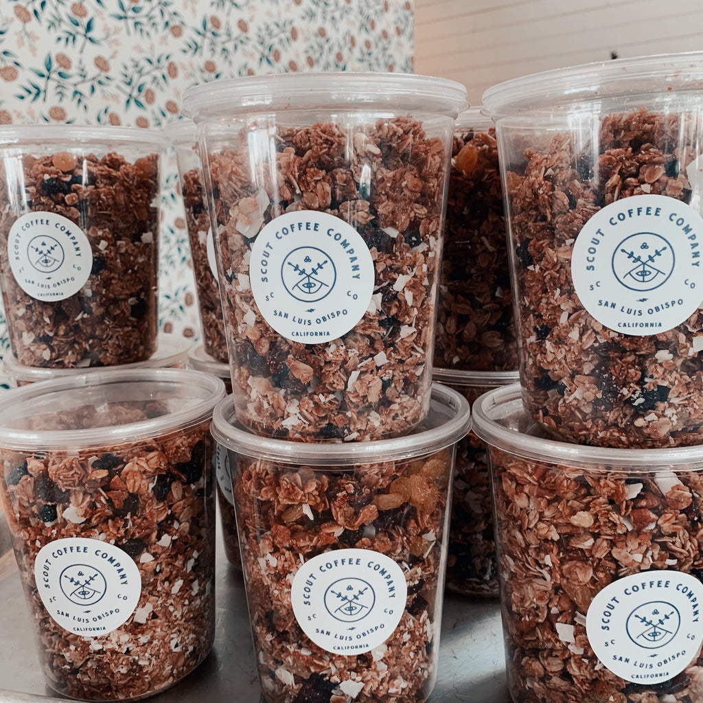 Scout house-made Granola 1lb. - Scout Coffee