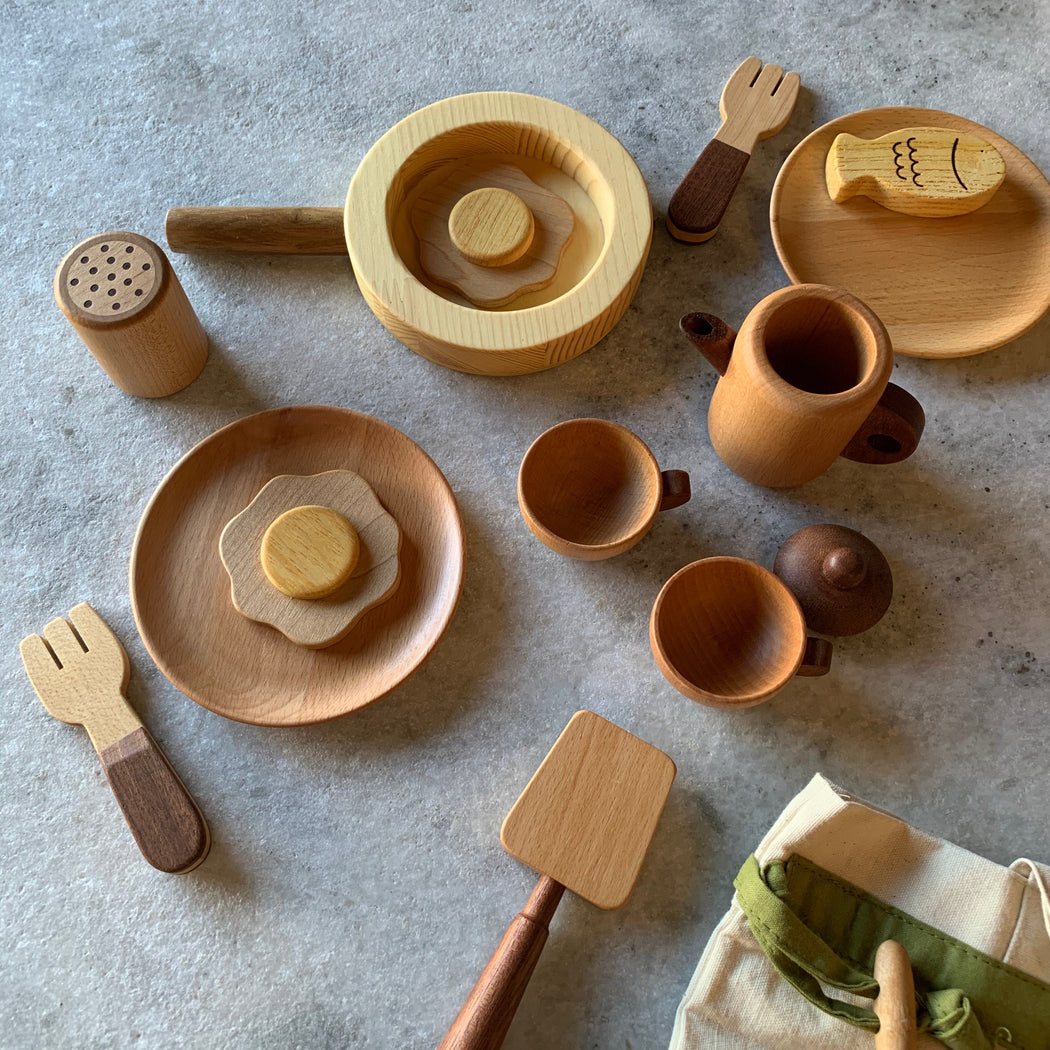 Wooden toys: chef's set - Scout Coffee