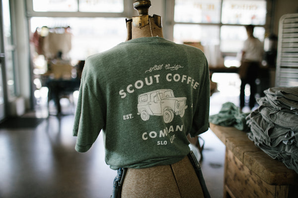 Scout Truck T-Shirt - Scout Coffee