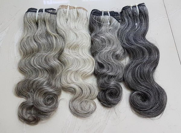 (Grey) Indian  Body Wave