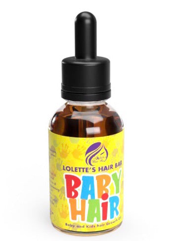 Baby Hair  [Baby and Kids hair Growth Oil] - Lolette's Hair Bar