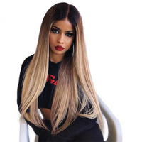 #27 Blonde 150% Density Full Lace wig