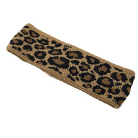Leopard Bow Headband
