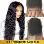 13*6 HD  Lace Deep Wave Wig