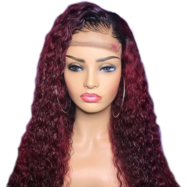 Curly Lace Front Wig (Bleached Knots) - Lolette's Hair Bar