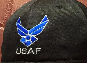 US AIR FORCE LOGO,BLACK (charitable donation w/ purchase)