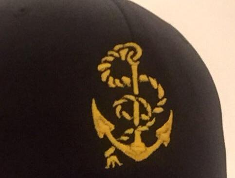 NAVY LOGO... black hat..