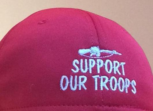 SUPPORT OUR TROOPS (charitable donation with purchase)