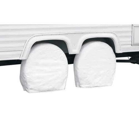 "Classic Accessories RV Wheel Cover 36"" - 39"" Snow White"