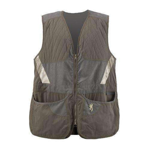 Men's Summit Shooting Vest Green/Dark Gray, 2X-Large