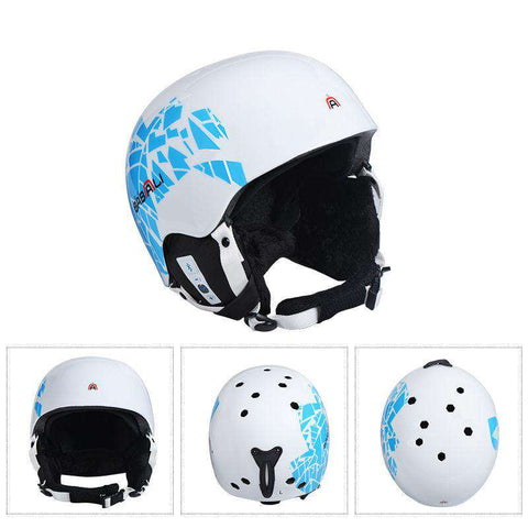 2018 MOON music Skiing Helmet Men Women PC/ EPS Ski Helmet Bluetooth Technology Outdoor Sports Snowboard Helmets