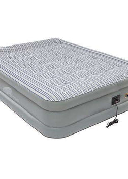 Airbed Queen, Double High Elite Pillowstop w/Built-In-Pump