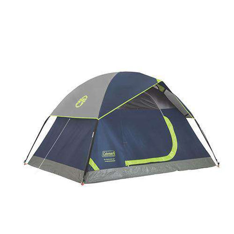 Sundome Tent 2 Person, 7' x 5', Navy/Gray