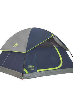 Sundome Tent 3 Person, 7' x 7', Navy/Gray