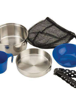 Coleman 1 Person Mess Kit - Stainless Steel
